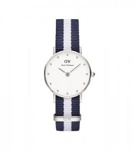 reloj daniel wellington azul blanco