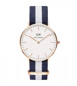 reloj daniel wellingotn azul blanco azul