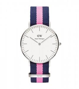reloj daniel wellington azul rosa azul