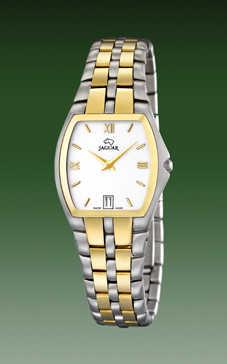 reloj jaguar acero y oro