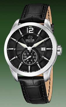reloj jaguar esfera y correa negra