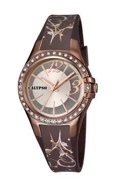 reloj calypso marron