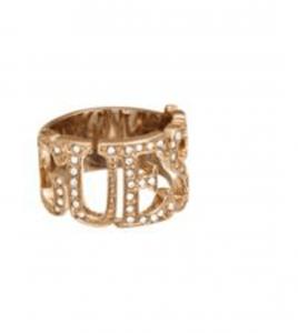 anillo cobre guess