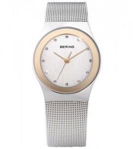 reloj bering acero bicolor