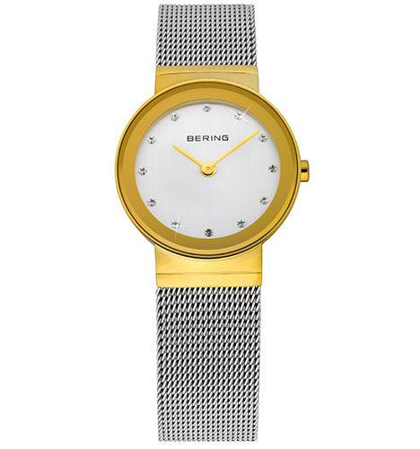 reloj bering caja dorada