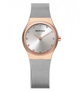 reloj bering bicolor acero