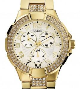 reloj guess dorado piedras