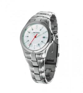 reloj time force acero