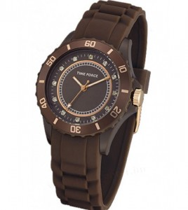 reloj time force marron