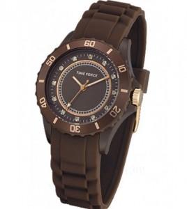 reloj time force marron