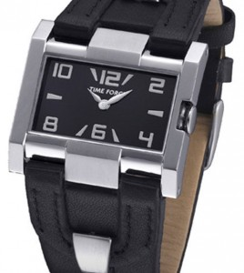 reloj time force negro