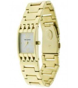 reloj time force dorado