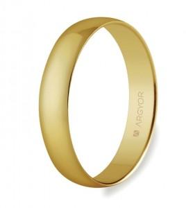 alianza argyor oro amarillo 4 mm