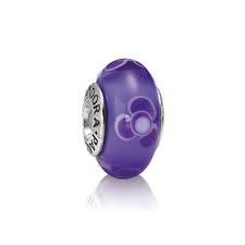 murano pandora violeta