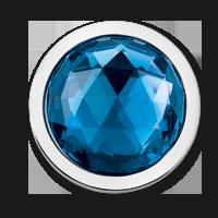 mi moneda cristal azul acero
