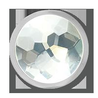 moneda cristal talla s