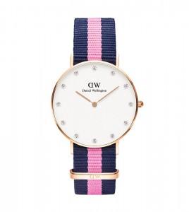 reloj daniel wellington piedras caja 34 mm