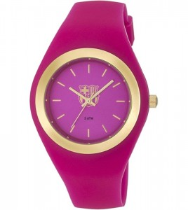 reloj fc barcelona caucho rosa