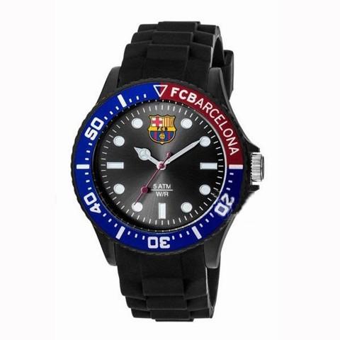 reloj radiant fc barcelon correa y caucho negro