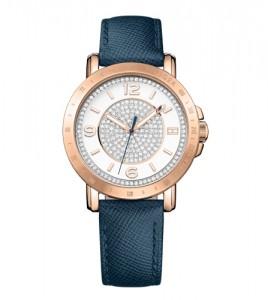 reloj tommy hilfiger caja acero chapada rose