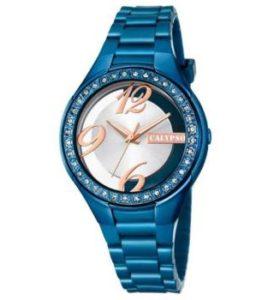 reloj calypso azul chica