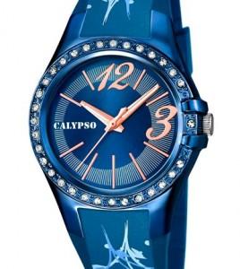 reloj calypso esfera azul