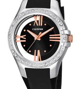 reloj calypso negro
