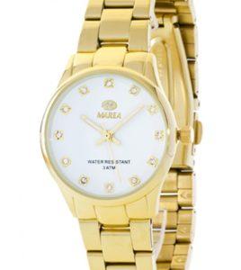 reloj marea dorado señora