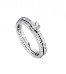 anillo doble diamonfire