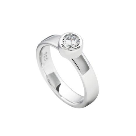 anillo plata diamonfire