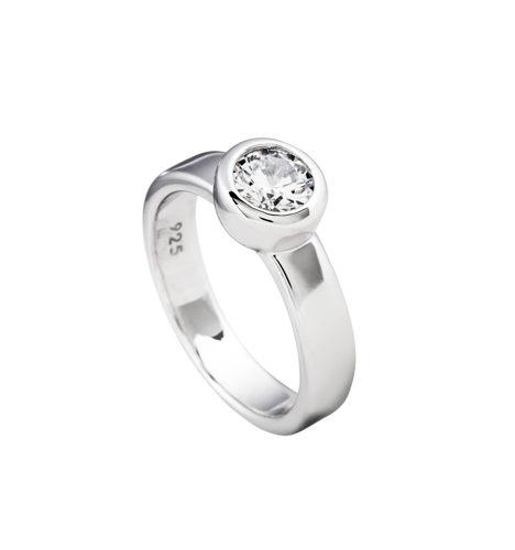 diamonfire anillo plata