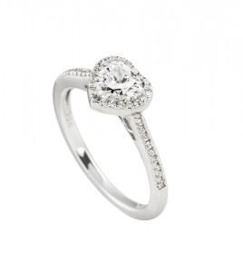 anillo corazon diamonfire