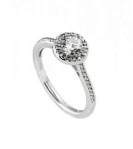 anillo redondo circonitas diamonfire