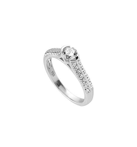 anillo redondo ideal diamonfire