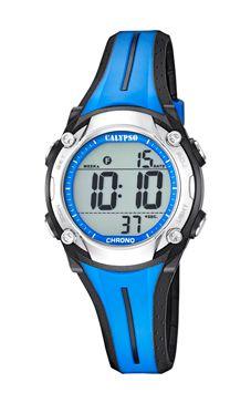 reloj calypso color azul
