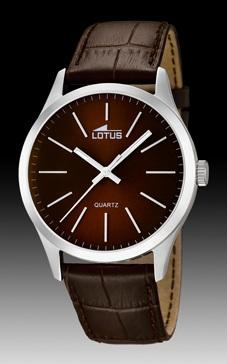 reloj lotus caballero marron