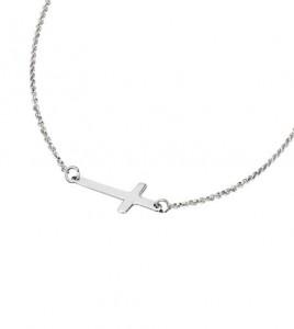 cruz invertida lotus silver