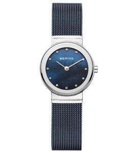 reloj bering malla azul