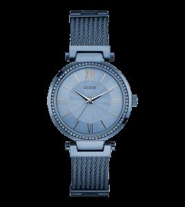reloj señora guess azul