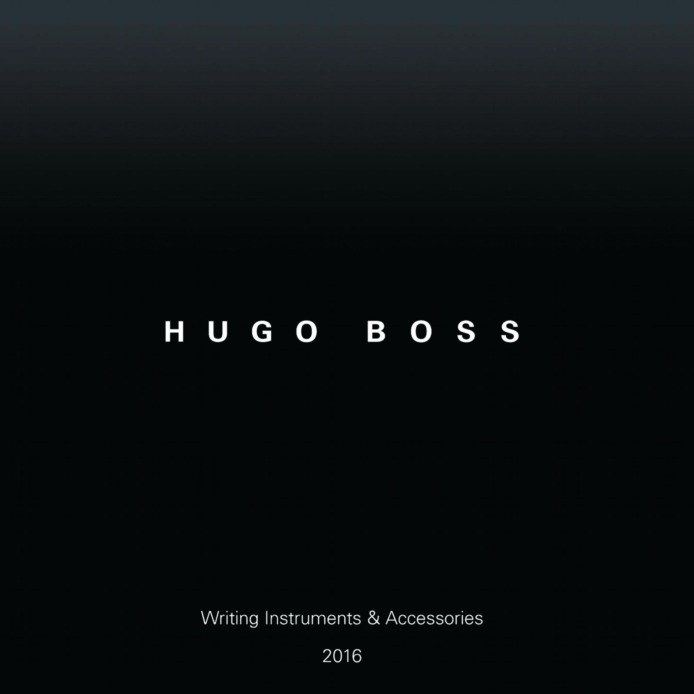 HUGO BOSS ESCRITURA