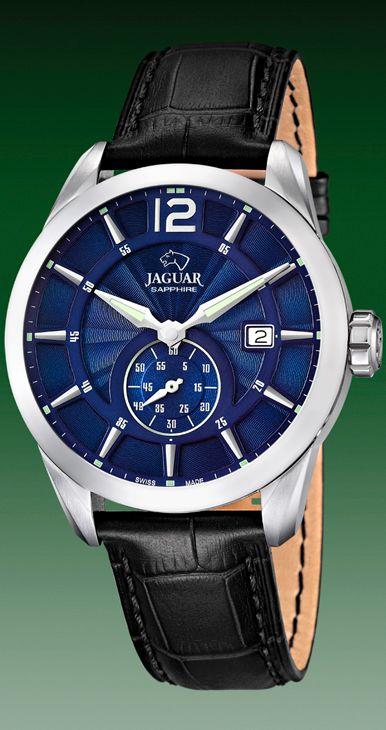 reloj jaguar esfera azul