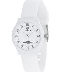 reloj marea numeros color blanco
