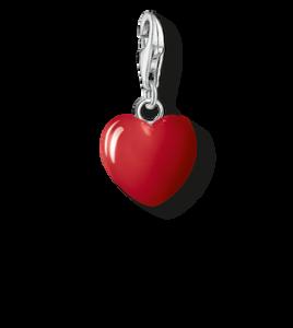 charm thomas sabo corazón rojo