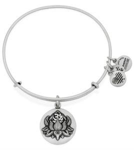 pulsera alex and ani flor de loto
