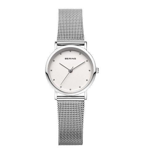 reloj bering acero mujer