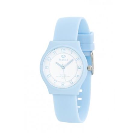 reloj marea color azul numeros