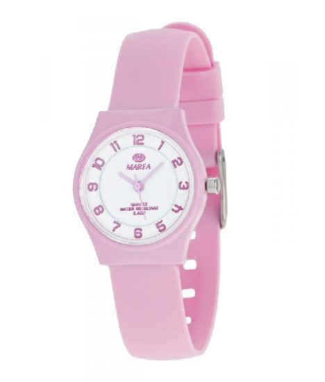reloj marea numeros color rosa