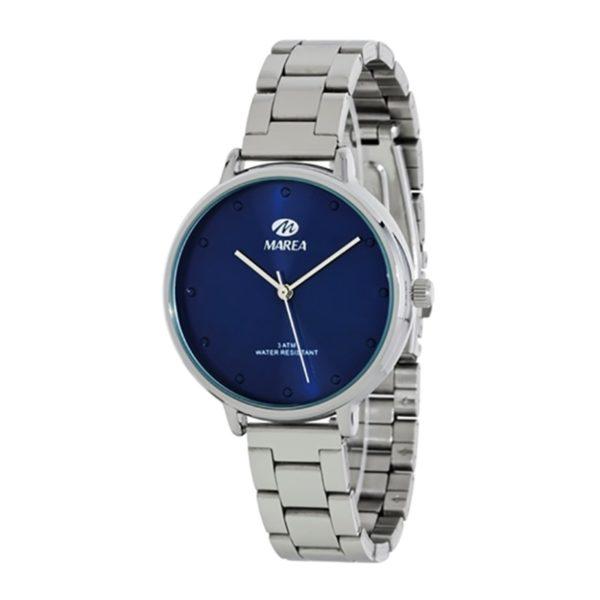 reloj marea esfera azul mujer