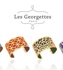 Les Georgettes. metal no precioso