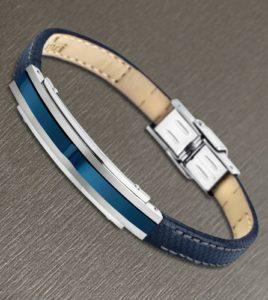 pulsera azul lotus style